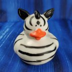Zebra Rubber Duck