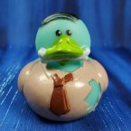 Zombie Businessman Rubber Duck