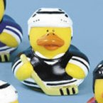Hockey Rubber Duck - Black Team