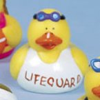 Lifeguard Rubber Duck Mitch