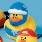 Race Car Driver 15 Rubber Duck