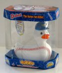 Duckout Baseball Rubba Duck in 360 Collector's Case