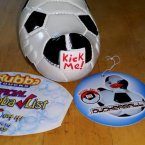 Duckerball Soccer Rubba Duck in 360 Collector's Case