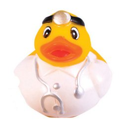 Retired Occupational Duck with Stethoscope - Dr. Duck
