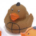 "Textured 2"" Football Rubber Duck"