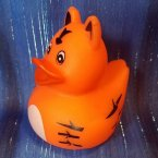 Zoo Animal Tiger Rubber Ducky