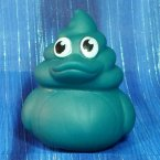 Mountain Blast Green Poop Emoji Rubber Ducks