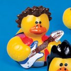 Rock Star Guitar Playing Rubber Duck