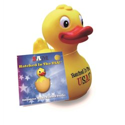 Retired CelebriDuck - Sam - Hatched in the U.S.A. Free Floating