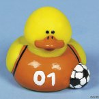 Retired Soccer Duck - Orange and Black