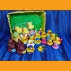 Big Yellow Easter Basket