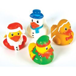 Holiday Rubber Ducks