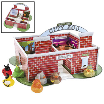City Zoo Rubber Duck Play Set
