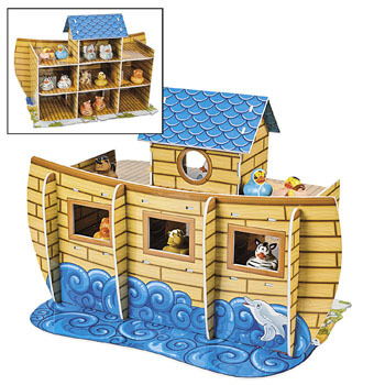 Noah's Ark Rubber Duck Play Set