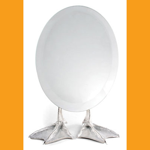 Duck Foot Mirror - Click Image to Close