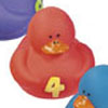 1, 2, 3 Number Counting Rubber Ducks