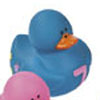 Blue Number 7 Rubber Duck