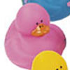 Pink Number 9 Rubber Duck