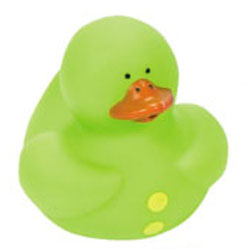 Retired Punctuation Green Colon : Rubber Duck - Click Image to Close