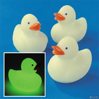 * Glow in the Dark Ducks
