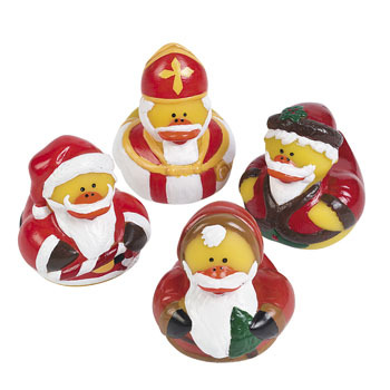* Holiday Rubber Ducks