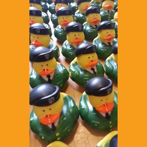 30 Military - Army Rubber Ducks