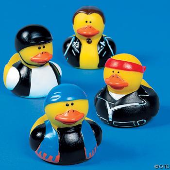 Biker Rubber Ducks Ducks Only Exclusively Ducks