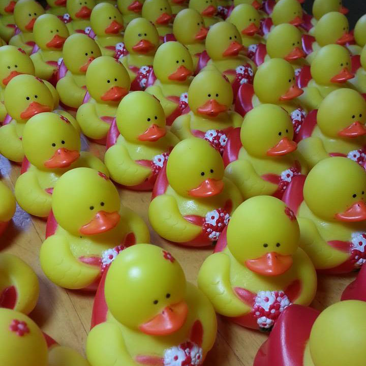 100 Formal Girl Rubber Ducks