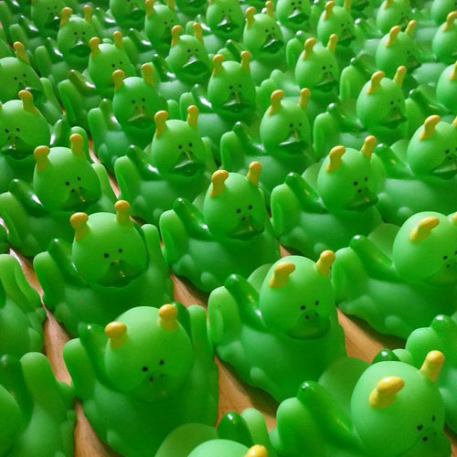 100 Grasshopper Rubber Duck