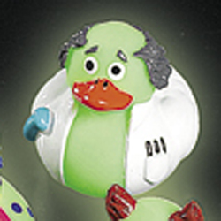 Glow In the Dark Professor Rubber Duck