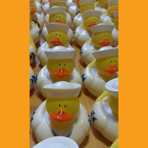 30 Military - Navy Rubber Ducks