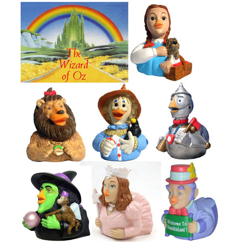 CelebriDucks - The Wizard of Oz Celebriduck Complete Set