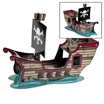 Pirate Ship Rubber Duck Play Set