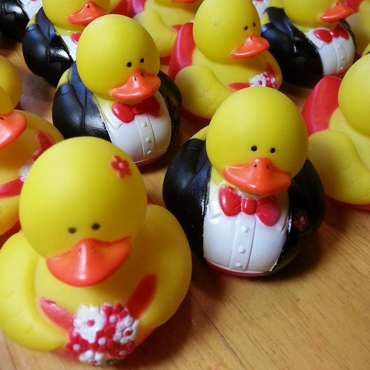 100 Formal Rubber Ducks - Boy and Girl Couples