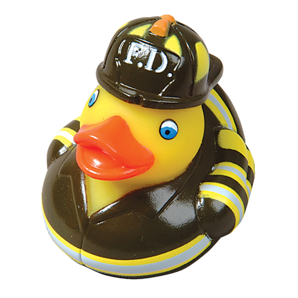 Firefighter Rubber Duck