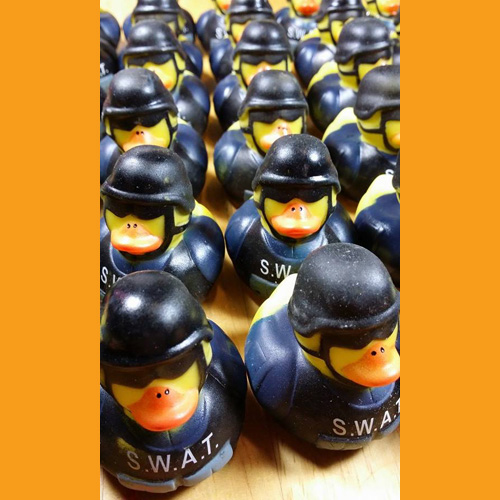 30 Law Enforcement Rubber Ducks - S.W.A.T. Team