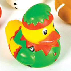 Elf Rubber Duck