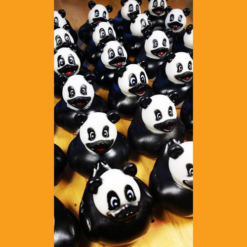 30 Zoo Animal Panda Rubber Ducky