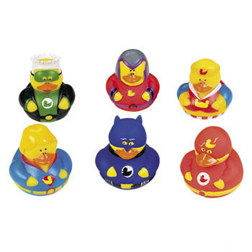 * Hero & Villain Rubber Ducks